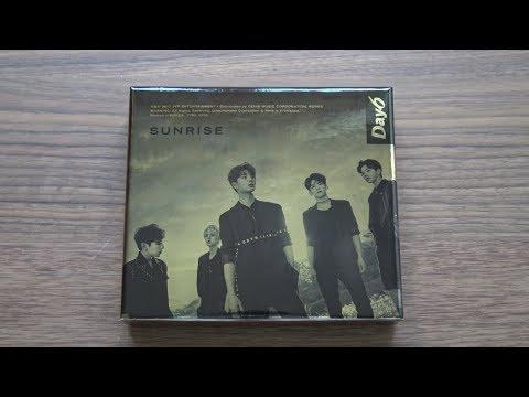 Unboxing DAY6 데이식스 1st Studio Album Sunrise