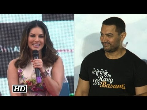 Sunny Leone Talks About Her Film With Aamir Khan !