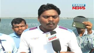 No Road Facility, Polling Officers Travel In Boat In Astaranga