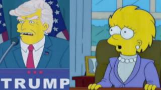 The death of Donald Trump | The Simpsons