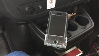 Cell Phone Holder for Chevy Service Van