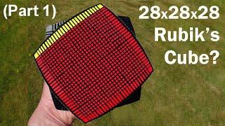 28 x 28 x 28 Rubik's Cube Puzzle ? (part 1)