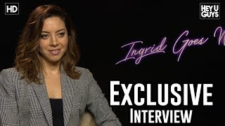 Aubrey Plaza on Leaving Instagram after Ingrid Goes West - Exclusive Interview