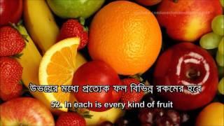 Surah Al Rahman (55) with Bangla Subtitle - Recitation By - Mishary Rashid Al Afasy.....