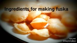 Make fuska puri at home
