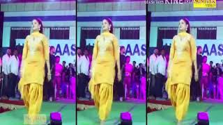 (Long lachi)Sapna stage dance on song - -(long-- lachi)