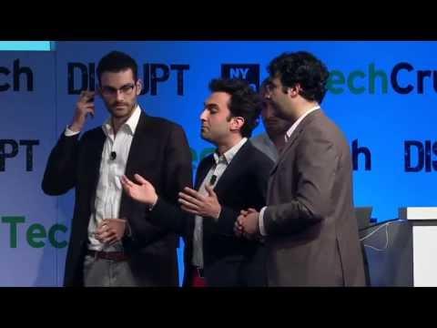 WINNER Enigma Disrupt NY 2013 Startup Battlefield Finals