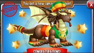 Dragon City - Jamaican Dragon [Holiday Island - Walkthought Part 1]