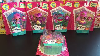 Lalaloopsy Mini Dolls Toy Opening & Review: Star Magic Spells, Furry, Pearly, Goldie