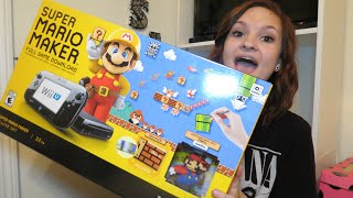 Super Mario Maker Wii U Bundle Unboxing! | Alyssa Nicole |