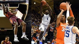 ACC Basketball Top 5 Plays of the Week