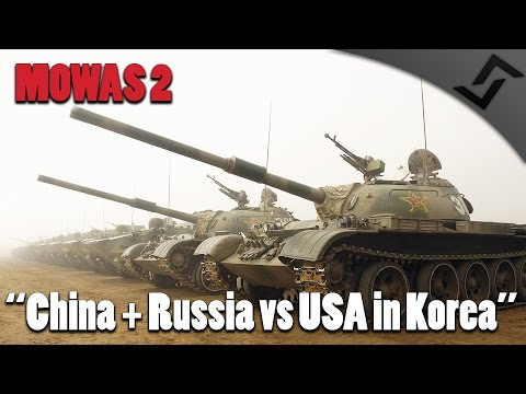 watch Men of War: Assault Squad 2 - China + Russia vs USA in Korea