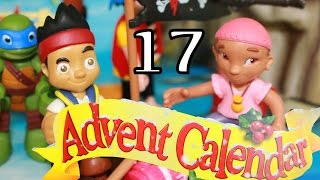 Disney Surprise Toys Box Christmas Advent Calendar DAY 17 Jake and the Never Land Pirates Izzy