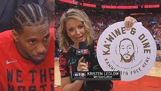 Kawhi Gets Treated Like A President By Raptors In Hopes He Stays In Toronto!