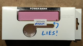 Simplest power bank ever?