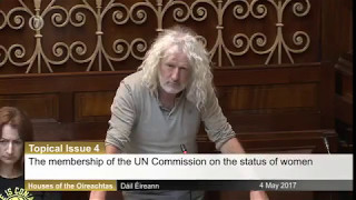 "Mick Wallace ""Electing Saudi Arabia Is Like Making An Arsonist The Town Fire Chief"""