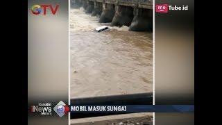 [Video Amatir] Detik-detik Sebuah Mobil Terbawa Derasnya Arus Sungai di Sidoarjo - BIM 18/12