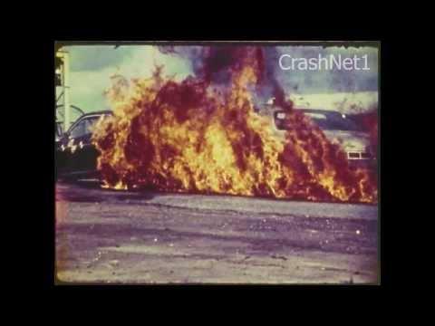 Ford Pinto vs Chevy Impala Rear End Crash Test CrashNet1