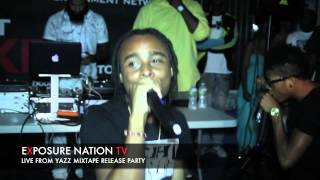 Yazz Mixtape Release Party Pt1