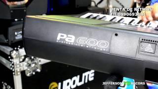 Piano KORG Pa-600 demo VENTA DE RITMOS