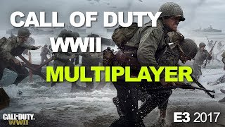 E3 2017: Call of Duty: WWII's Multiplayer Divisions, weapons, and War Mode