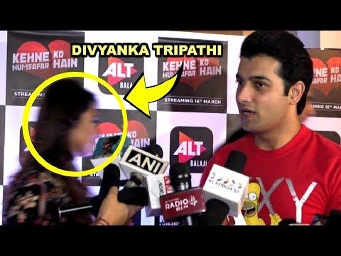 Divyanka Tripathi Ignores Ex Boyfriend Sharad Malhotra