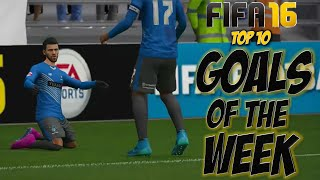 FIFA 16 - Top 10 Goals Of The Week #9