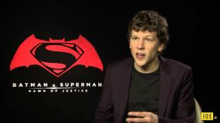 Jesse Eisenberg talks Lex Luthor, Batman v Superman and Zombieland 2