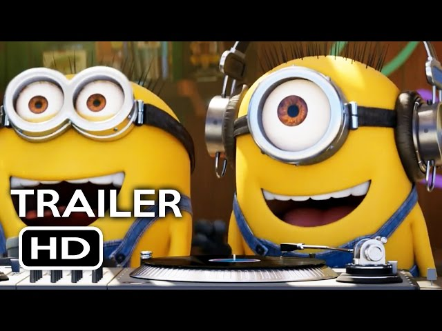 Despicable Me 3 Official Trailer #1 (2017) Steve Carell Animated Movie HD
