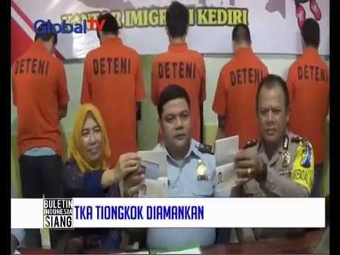 Tak hanya PSK asing, petugas Imigrasi Bekasi amankan sejumlah TKA Tiongkok - BIS 13/01