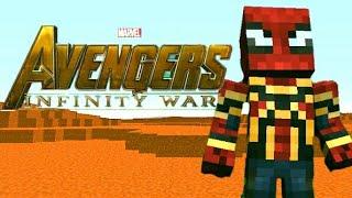 Minecraft Avengers infinity war tralier