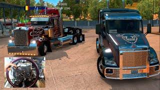 American Truck Sim Online - Building First Truck / Unlimited Money $$ | SLAPTrain