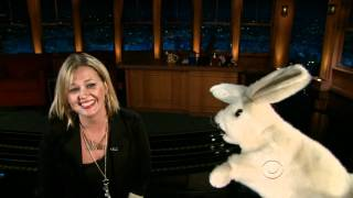 Sid the cussing rabbit with Jessica from Atlanta