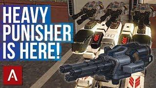 War Robots Test Server 4.0: New Weapon Avenger (Heavy Punisher)