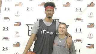 I'm Possible and Micah Lancaster TRAIN the Nation's best basketball prospects at Skillcase