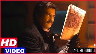 Lingaa Tamil Movie Scenes HD   Rajinikanth Flashback   Rajinikanth fights the looters in the train