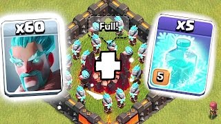 NEW ICE WIZARD + 5 FREEZE SPELLS!!! 😀 Clash of clans Clashmas update