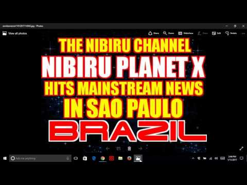 PLANET X HITS BRAZILIAN NATIONAL NEWS (VIDEO & REPORT}