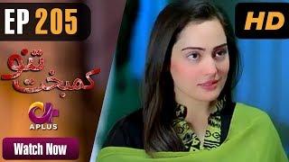 Drama | Kambakht Tanno - Episode 205 | Aplus ᴴᴰ Dramas | Shabbir Jaan, Tanvir Jamal, Sadaf Ashaan