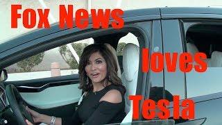 Tesla Model X at Fox News