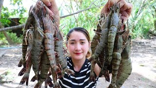 Yummy Shrimp Crispy Stir Fry Cooking Garlic - Shrimp Crispy Recipe - Cooking With Sros
