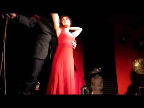 Leganza Bondage show at Shibari Night MaestroBD 05.04.2013
