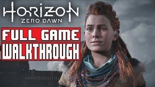 Horizon Zero Dawn Gameplay Walkthrough Part 1 Full Game (PS4 Pro) - No Commentary