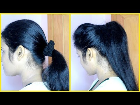 Xxx Mp4 How To Make Voluminous Ponytail In 2 Minutes 3gp Sex