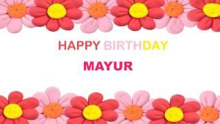 Mayur   Birthday Postcards & Postales - Happy Birthday