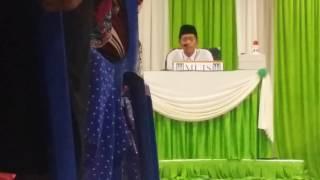 Ubaidillah Al Hamdan Bin Fahmi (peringkat belia) saringan MTTQ MUIS 2016