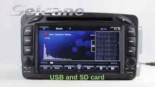 Dual-Core Android 4.2 Navigation Audio Stereo for 1998-2004 Mercedes Benz CLK200 230 320 430 55