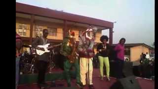 Lagbaja performs with Nigeria's Got Talent Finalist, Koredesax