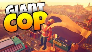 Giant Cop - Catching the Cabbage Heads! - Giant Cop Gameplay-  HTC Vive VR Game