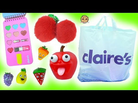 Giant Claire s Haul The Cutest Food Items Ever Ice Cream Makeup Shopkins BFF Key Chain More